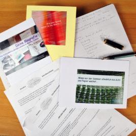 Schreibwerkstatt für kreatives und biografisches Schreiben