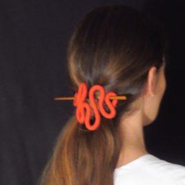 Gancho de cabelos – kleine Haarspange