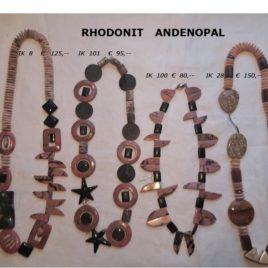 Ketten Rhodonit